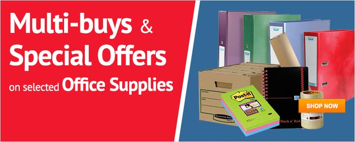 Special Offers on Office Supplies